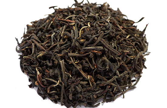 twisted Ceylon black tea